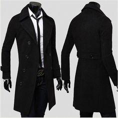 black trench coat men - Google Search   Men's apparel ...