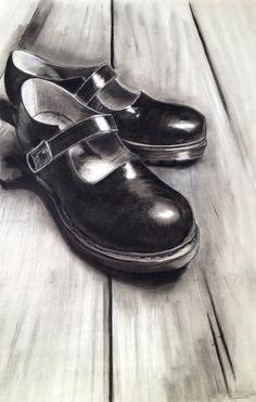 rugan ayakkabı çizimi