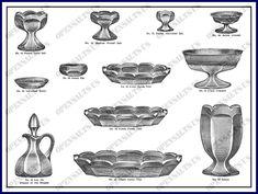 Miller Glass, Catalog, Brochures