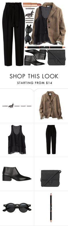 """""""She knows she got everything"""" by karllydolly ❤ liked on Polyvore featuring Valentino, Uniqlo, H&M, A.L.C., Givenchy, Alaïa, ZeroUV, Dolce Vita and chelseaboots"""