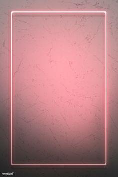Pink neon lights frame on a rustic wall mockup design Pink Neon Wallpaper, Whats Wallpaper, Framed Wallpaper, Phone Screen Wallpaper, Flower Background Wallpaper, Flower Backgrounds, Aesthetic Iphone Wallpaper, Aesthetic Wallpapers, Wallpaper Backgrounds