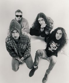 Alice in Chains - saw them at Lollapalooza in the 90's and again in 2013 with the new lead singer. Rocked both times.