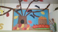Fall bulletin board i made :)