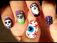 Uñas Halloween #1 - Halloween nails #1