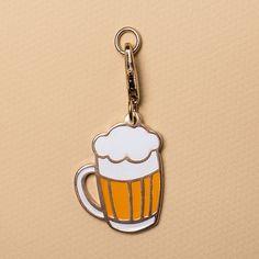 Pingente Beer - Bo.Be Store Bobe, Metal, Personalized Items, Metal Casting, Enamels, Bucket Lists, Metals