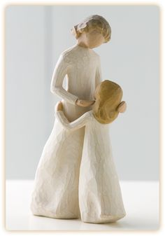 Mother And Daughter Willow Tree Figurine