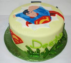 Sugar Sweet Cakes and Treats: Superman Kryptonite Cake (and Sugar Glass Recipe)