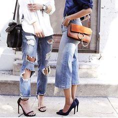 #streetstyle #fashionweek #instafashion #chloegirls #instalike #fashionblogger #rippedjeans #styling #styleblogger #streetstylegallery