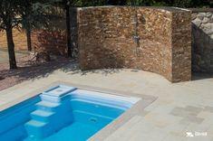 Alcove, Showroom, Bathtub, Bathroom, Outdoor Decor, Design, Home Decor, Travertine, Granite Counters