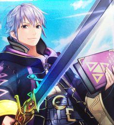 Robin! My favorite fire emblem character