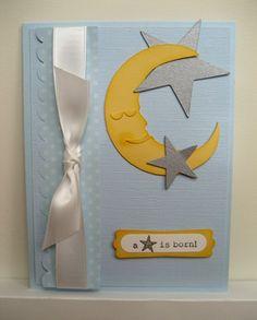Handmade Cards: Baby Boy!