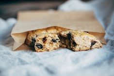 A whole grain and naturally sweetened recipe for orange cinnamon scones with dark chocolate.