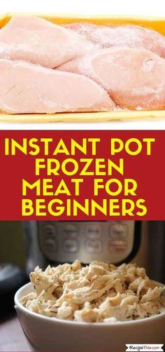 How To Cook Frozen Meat In The Instant Pot Pressure Cooker+ Free Printable. #instantpot #pressurecooker #instantpotprintable #instantpotfrozenmeat #instantpotfrozen