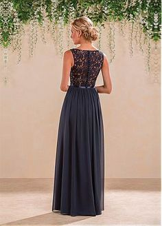 Buy discount Marvelous Lace & Chiffon V-Neck A-Line Bridesmaid Dresses With Pleats at Dressilyme.com