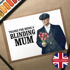 Mothers Day Gifts Uk, Mothers Day Cards, Gifts For Mum, Grandma Gifts, Peaky Blinders Gifts, Shelby Brothers, Professional Gifts, Bunch Of Flowers, Creations