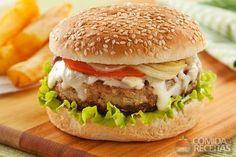 Receita de Hambúrguer de carne de sol em receitas de carnes, veja essa e outras receitas aqui!