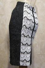 99095978b3b Byron Lars Beauty Mark NWT Aseun o Stretch Lace Pencil Skirt - 4 - Retro  Glamour