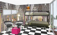 Pop-up interior designed by Capital Cities