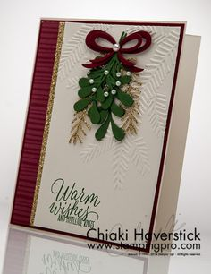 Christmas Card 2016: Mistletoe Wishes