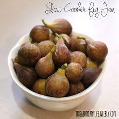 slow cooker fig jam