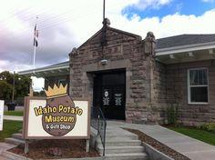 Why Mr. Potato Head loves Blackfoot, Idaho?  Read about @EverydayTourist 's visit to the Idaho Potato Museum.  Then visit it yourself!  | VistIdaho.org | #Idahopotatomuseum #blackfoot #everydaytourist #idaho