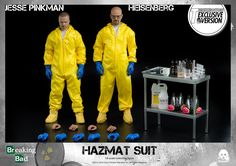 1/6th Breaking Bad Heisenberg & Jesse Hazmat Suit Combo available for pre-order www.threezerostore.com Heisenberg & Jesse Hazmat Suit Combo price at www.threezerostore.com is 320USD/2490HKD with shipping included in the price. More pics and full info:  https://www.facebook.com/media/set/?set=a.1546962615329561.1073741976.697107020315129&type=1&l=3538588179 #threezero #BreakingBad #Heisenberg #BetterCallSaul #JessePinkman #actionfigure #toys #toy #collectible #onesixthscale