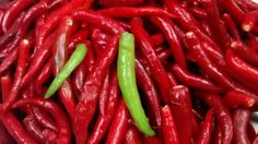Devilishly mouth watering chillies!