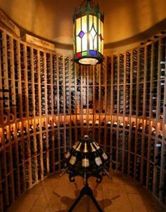 Check these beautiful wine cellars at https://glamshelf.com and other creative tricks to store your wine with style.