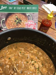 Our friends over at Texas Pete have done it again! This White Bean Chicken Chili has everything you want... made with TP's SriraCHA! sauce and packed with flavor and heat, this is a meal the family will be begging for more!