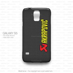 Akrapovic Exhaust System Carbon Logo Galaxy S5 Case