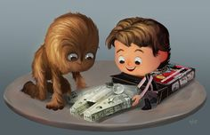 Nostalgia and Evolution Are Mashed Together In This 'Adorkable' Pop Culture Artwork