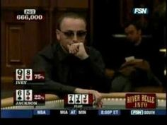 Amazing - Phil Ivey vs. Paul Jackson Monte Carlo Millions, nov. 2005