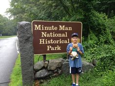 Minute Man National Historical Park commemorates the opening battle of the American Revolutionary War, which was fought from 1775 to 1783.