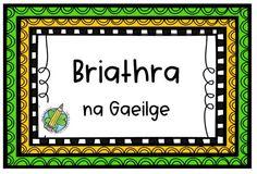 All 3 of my Briathra na Gaeilge sets in one bundle