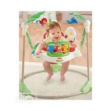There are so many sights and activities are in the Fisher-Price Rainforest Jumperoo. Music, lights, and exciting sounds reward have discovered on this brightly colored jumperoo with every jump. The kid will look around the spinning seat, wherever there is something fun to watch. To captivate baby's attention and keeping him entertained at busy toys includes a bobble elephant and swinging monkey. Baby Activity Jumper, Yamaha Sound, Rainforest Theme, Baby Bouncer, Baby Swings, Baby Boy Rooms, Infant Activities, Baby Grows, Fisher Price