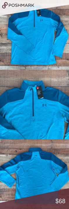 Mens Under Armour Cold Gear Quarter Zip Brand new with tags Never worn No imperfections Functional quarter zipper  Cold gear technology Under Armour Jackets & Coats
