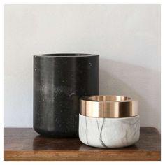 STYLE TABOO| Michael Verheyden - Marble vases
