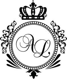 Monogramas para Casamento Download Grátis   Toda Atual