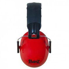 Cache-Oreille Protecteur de Son 2 ans et +  - Rouge Kids Headphones, Hearing Protection, Baby Swimming, Earmuffs, Air Show, Leather Cover, Concert, Amazon, Red