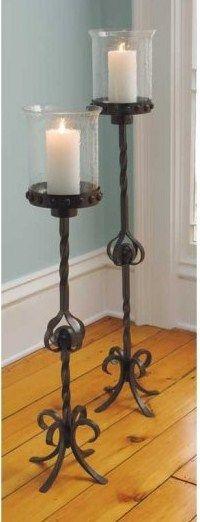 floor standing candle holders