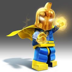 Lego Batman 3 Doctor Fate