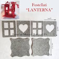 Image result for cartamodelli casette in feltro