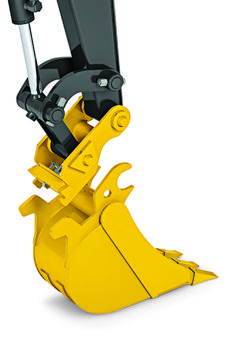 John Deere hydraulic coupler allows easy attachment switches on compact excavators Excavation Equipment, Garden Tractor Attachments, Robotic Welding, Homemade Tractor, Small Tractors, Tractor Loader, Surreal Photos, Mini Excavator, Car Cleaning Hacks