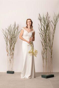 Sellő fazonú csipkés menyasszonyi ruha Couture, Modern, Collection, Trendy Tree, Haute Couture