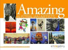 Amazing Australian Artists, Coffee Table Book