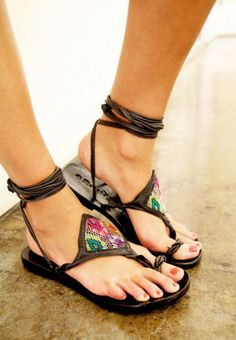 » Jen's Pirate Booty casual bold gladiator sandals