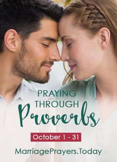 Praying Through Proverbs - A new series coming October 1-31st!
