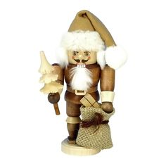 Christian Ulbricht color Santa Mini Nutcracker