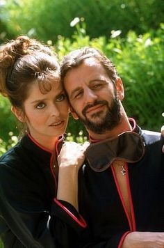 Ringo Starr and  wife Barbara Bach