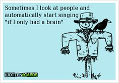 Funny quotes - Sometimes I look at people and...